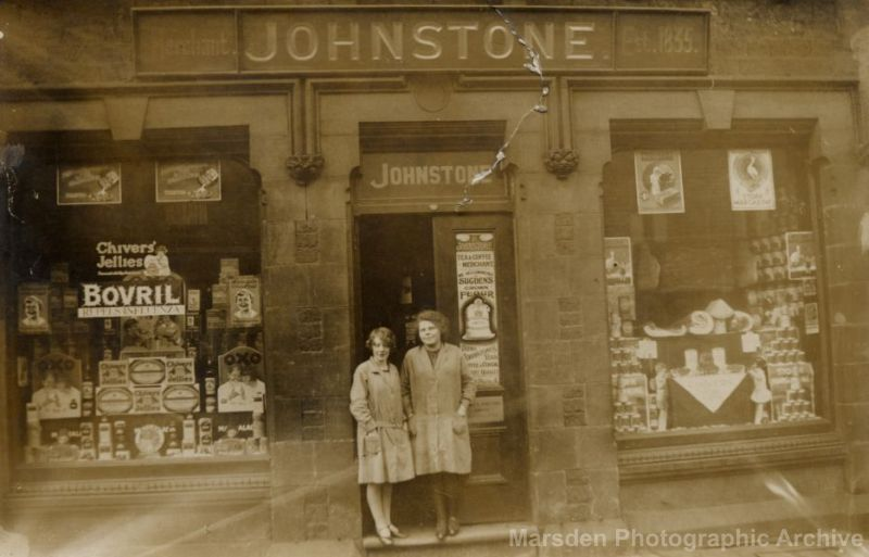 Johnstones shop on Peel Street Marsden
