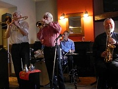Jazz Service with New Orleans Wiggle