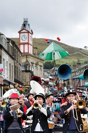 Street Parade at Marsden Jazz Festival