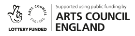 Logo for Arts Council England