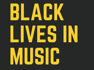 We've partnered with Black Lives in Music!